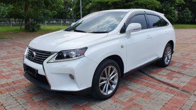 2013 Lexus RX RX270 FSport - White on Biege terawat Siap Pakai