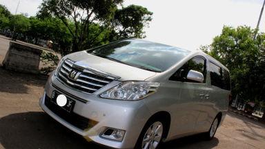 2012 Toyota Alphard X - Sangat Terawat dan Siap Pakai Harga MURAHH