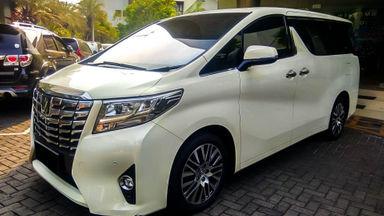 2015 Toyota Alphard G 2.4 AT - Mobil Pilihan (s-0)