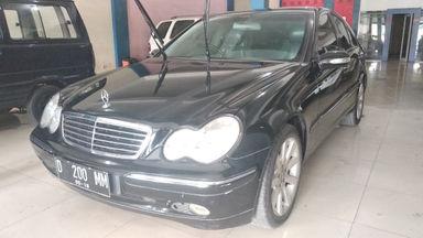 2003 Mercedes Benz C-Class C 180 - mulus terawat, kondisi OK, Tangguh