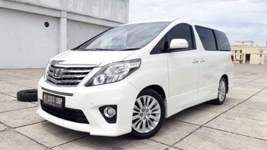 2012 Toyota Alphard 2.4 SC Premium Sound At - Tdp Minim Bisa Bawa Pulang Mobil