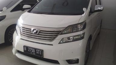 2015 Toyota Vellfire G - BERKUALITAS TINGGI