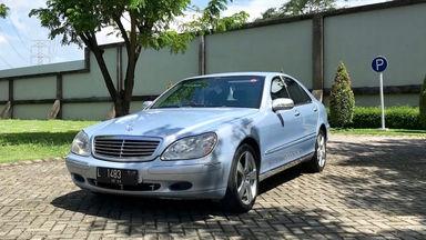 2000 Mercedes Benz S-Class S280 - kondisi simpanan FULL ORI KM 42rb miles asli L ex dokter