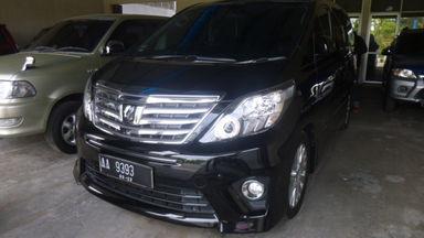 2014 Toyota Alphard AT - Unit Siap Pakai