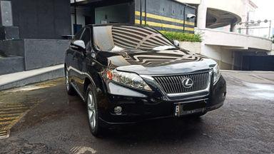 2011 Lexus RX RX270 - CBU IU Panoramic Black on Black 2011