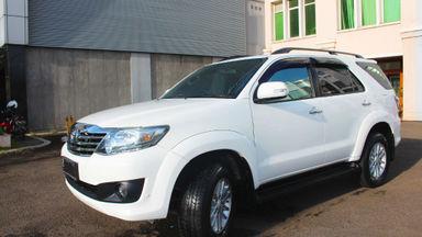 2012 Toyota Fortuner G - barang bagus harga bersahabat