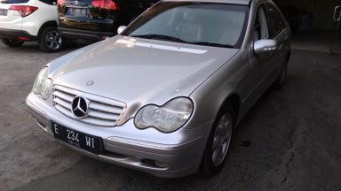 2003 Mercedes Benz C-Class C240 Elegance - Siap Pakai Dan Mulus