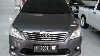 2013 Toyota Kijang Innova 2.0 G - Mulus