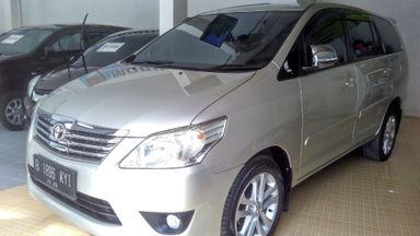 2012 Toyota Kijang Innova G - Jarang Pakai