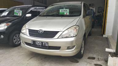 2005 Toyota Kijang Innova G - mulus terawat, kondisi OK