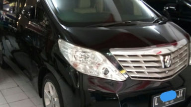 2011 Toyota Alphard G Premium Sound - Barang kayak baru cat Ori smua kilometer asli