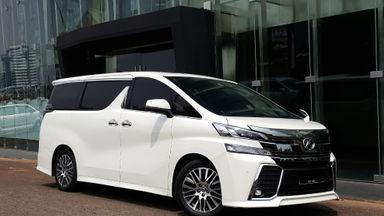 2015 Toyota Vellfire ZG Premium Sound - Mobil Pilihan (s-1)