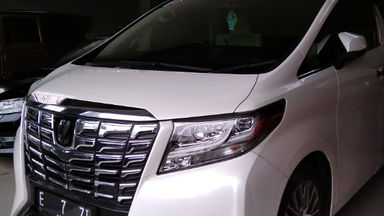 2017 Toyota Alphard G - Seperti Baru Unit Siap Pakai