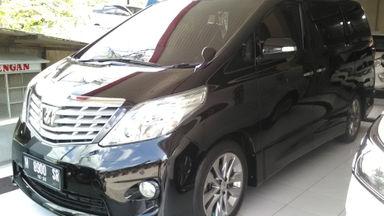 2010 Toyota Alphard AT - Istimewa