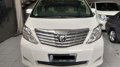 2010 Toyota Alphard IU - mulus terawat, kondisi OK, Tangguh
