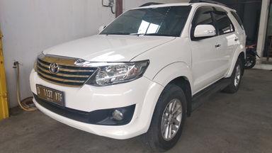 2012 Toyota Fortuner G - mulus terawat, kondisi OK, Tangguh