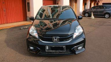 2014 Honda Brio E AT - barang bagus KM 30 ribu asli (s-1)