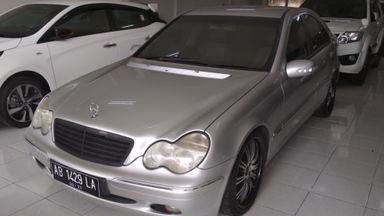 2002 Mercedes Benz C-Class C 200 - Mulus