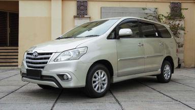 2014 Toyota Kijang Innova Grand New V - Mobil Pilihan (s-0)