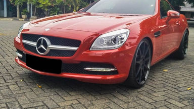 2014 Mercedes Benz Slk 200 - Mobil Pilihan