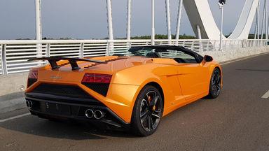 Jual Mobil Bekas 2013 Lamborghini Gallardo 560 4 Spyder Surabaya