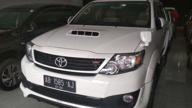 2014 Toyota Fortuner G - Istimewa