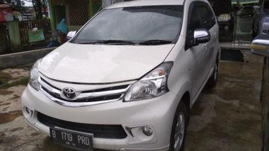 2014 Toyota Avanza G - Terawat Siap Pakai