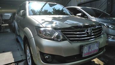 2012 Toyota Fortuner g - Barang Mulus dan Harga Istimewa