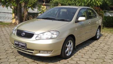 2003 Toyota Altis g - Barang Cakep