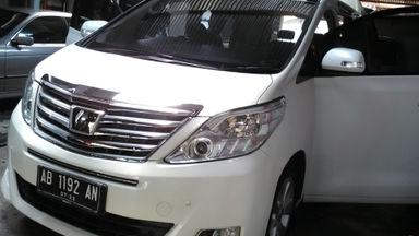 2012 Toyota Alphard G - Langsung Tancap Gas