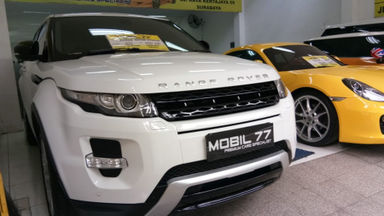 2012 Land Rover Range Rover Evoque Dynamic Luxury - Type paling tinggi