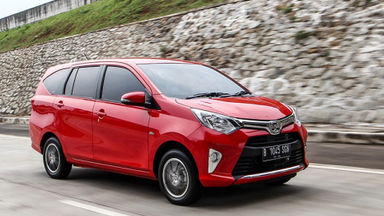 2016 Toyota Calya G - Istimewa Seperti Baru Unit Siap Pakai