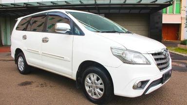 2013 Toyota Kijang Innova G MT - barang bagus terawat & siap tukar tambah (s-0)