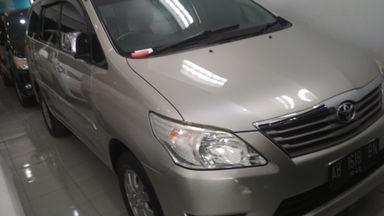 2012 Toyota Kijang Innova Venturer G - Harga Istimewa