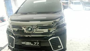 2015 Toyota Vellfire ZG premium sound - Barang Istimewa Menerima Cicilan (s-0)