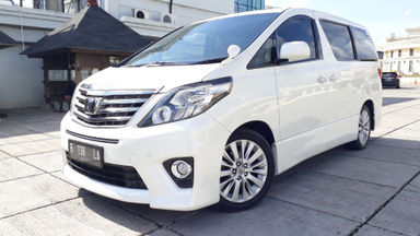 2012 Toyota Alphard SC Audioless 2.4 At - Good Contition Like New