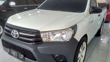 2016 Toyota Hilux P U - Kondisi Ciamik TANGGUH !