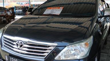 2012 Toyota Kijang Innova G - Kondisi Mulus Siap Pakai