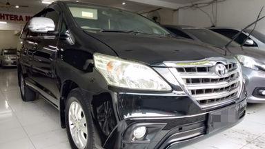 2014 Toyota Kijang Innova G - Siap Pakai Dan Mulus