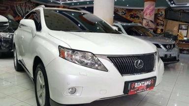 2011 Lexus RX 270 - Sangat ISTIMEWA