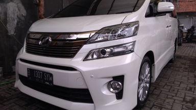 2013 Toyota Vellfire ZG Premium Sound - KM Sedikit
