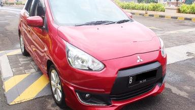 2014 Mitsubishi Mirage Gls sport at - Barang cakep murah meriah