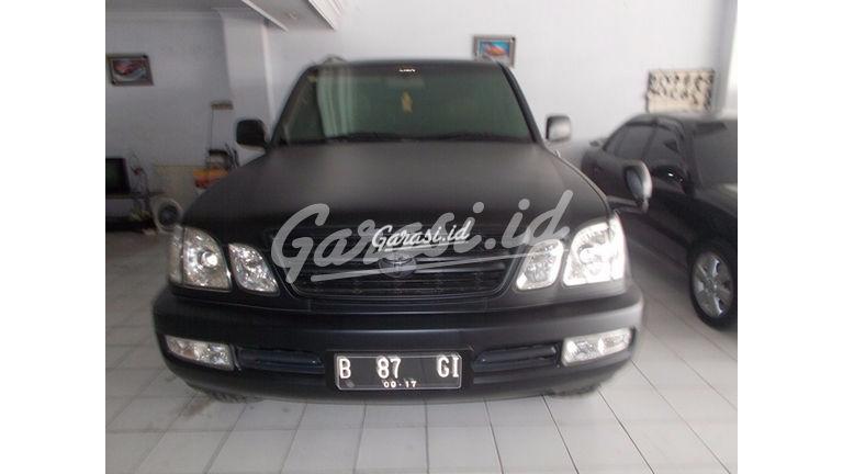 Jual Mobil Bekas 2002 Toyota Land Cruiser Suv Kota Bekasi