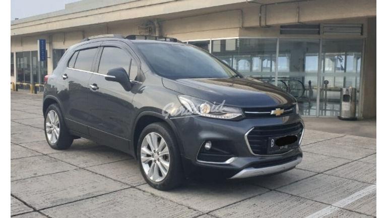 Jual Mobil Bekas 2017 Chevrolet Trax Ltz Turbo Facelift Jakarta