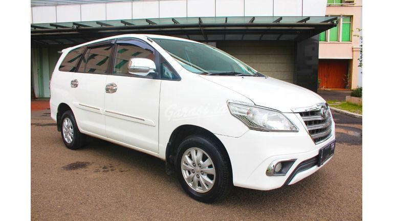 2013 Toyota Kijang Innova G MT - barang bagus terawat & siap tukar tambah (preview-0)