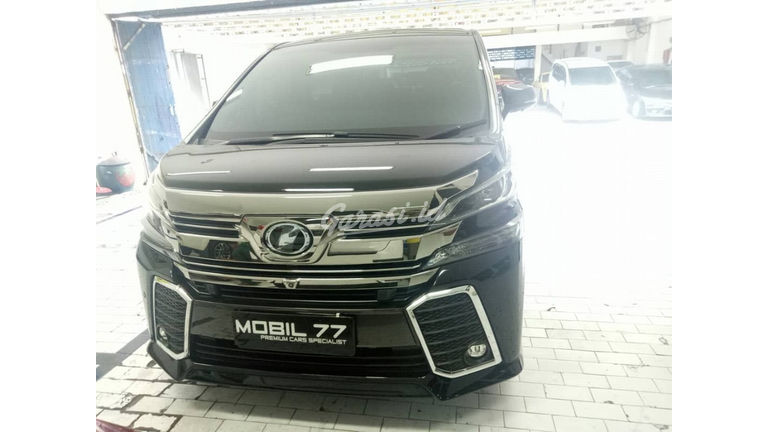 2015 Toyota Vellfire ZG premium sound - Barang Istimewa Menerima Cicilan (preview-0)