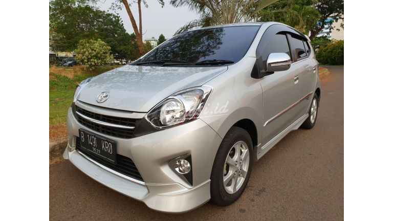 2015 Toyota Agya G TRD - KM 21 RB record - Pajak Juny 2019 (preview-0)