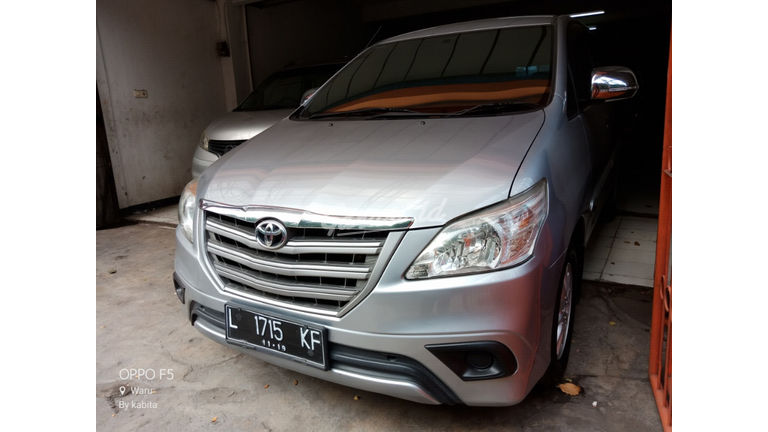 2014 Toyota Kijang Innova E Plus - Grill Besar Like New (preview-0)