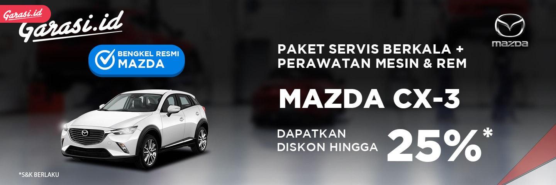Perawatan Mazda CX-3