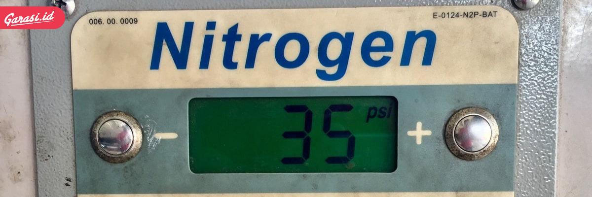 Isi angin mobil nitrogen